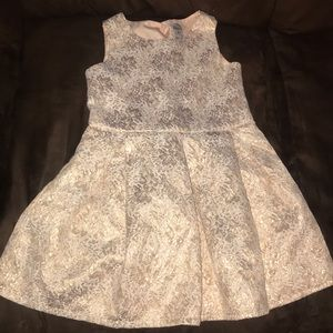 Toddler girls rose pink dress carters size 4 fancy